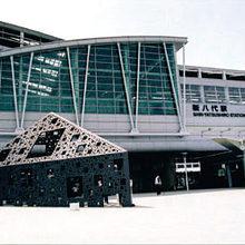 <p>「九州新幹線」新八代駅</p>