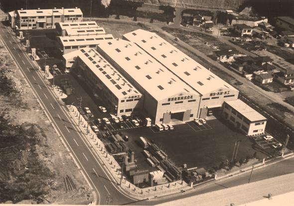 昭和28年創業当初の服部産業㈱