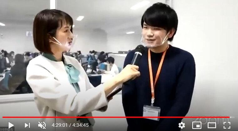 先輩社員 中島さんへのインタビュー