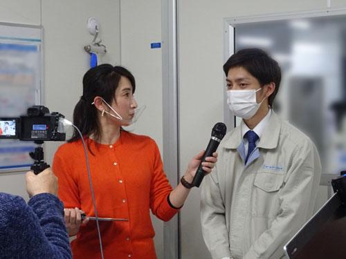 先輩社員 若松さんへのインタビュー